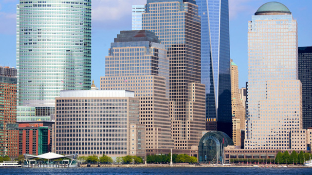 The bus tour will take your to Wall Street in Lower Manhattan.