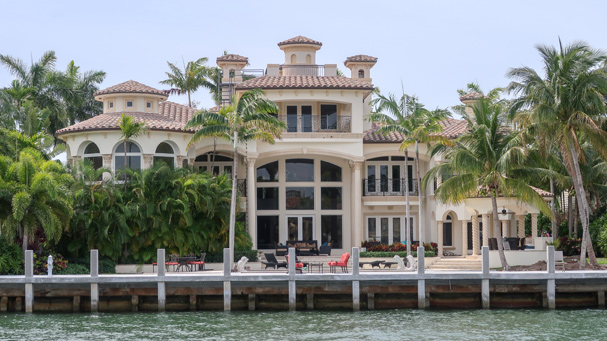 It is like you are in their backyards on the Riverfront Cruise in Fort Lauderdale.