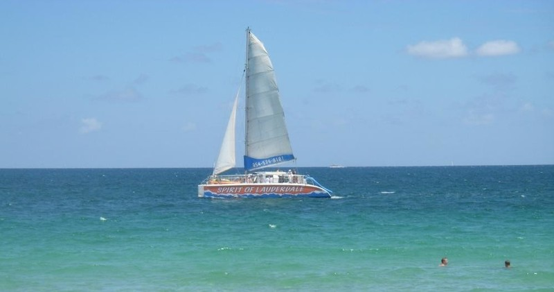The Spirit of Lauderdale is a great boat to enjoy during your island getaway tour.