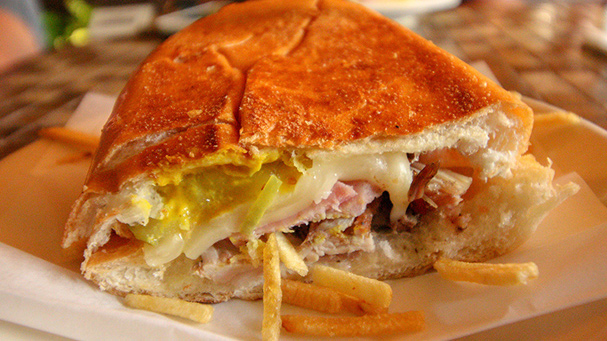 The best Cuban sandwich in Miami is found during the Little Havana Food Tour.
