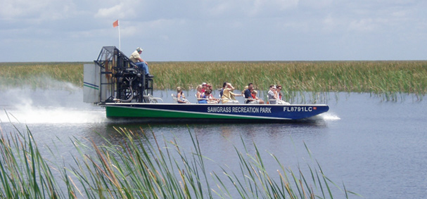 Sawgrass Recreational Park Airboat
