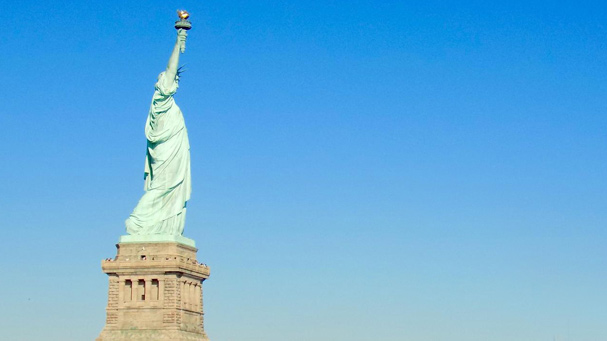 The Statue of Liberty is the most iconic tour while visiting New York City.