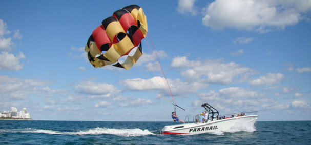 Soft landings make our parasailing trip extraordinary.
